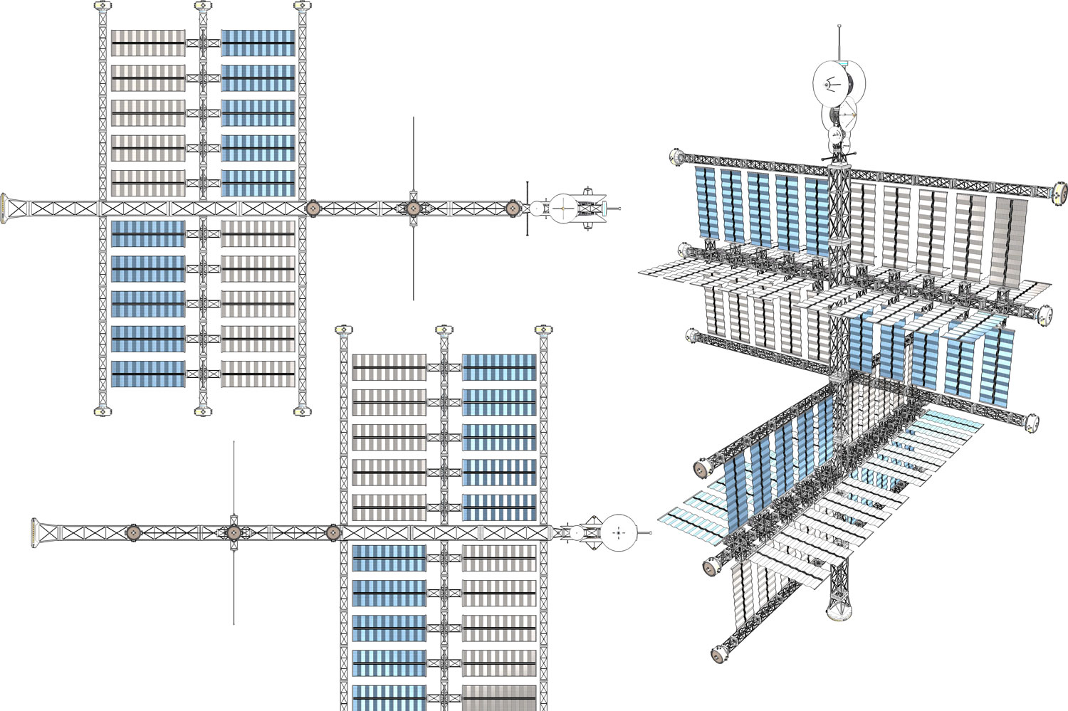 Origin Omnidirectional Solar Array